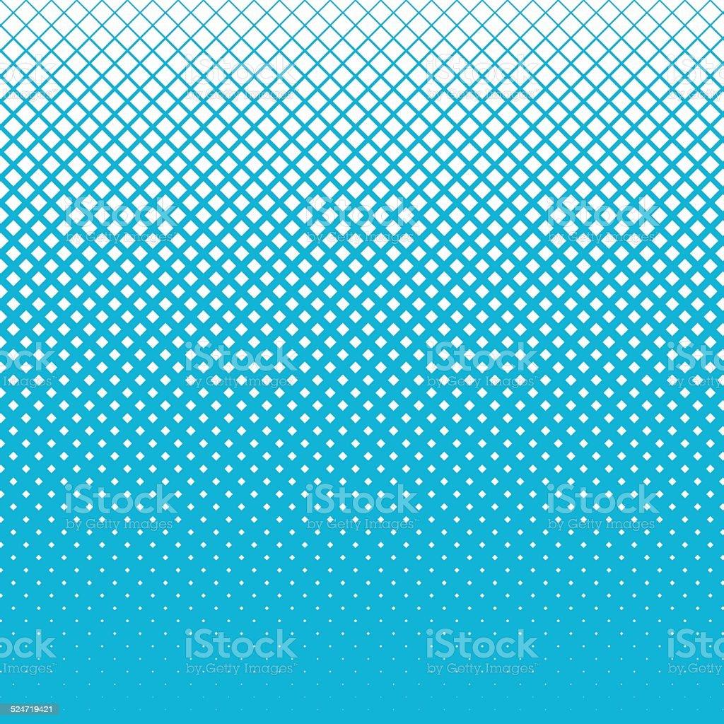Snow of halftone cubes on blue sky background vector art illustration