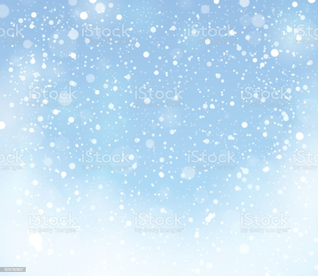 Snow theme background 9 vector art illustration
