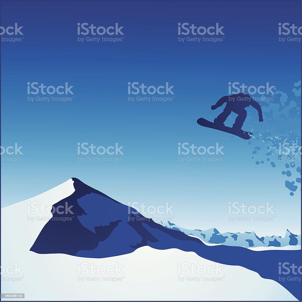 Snowboard Xtreme royalty-free stock vector art