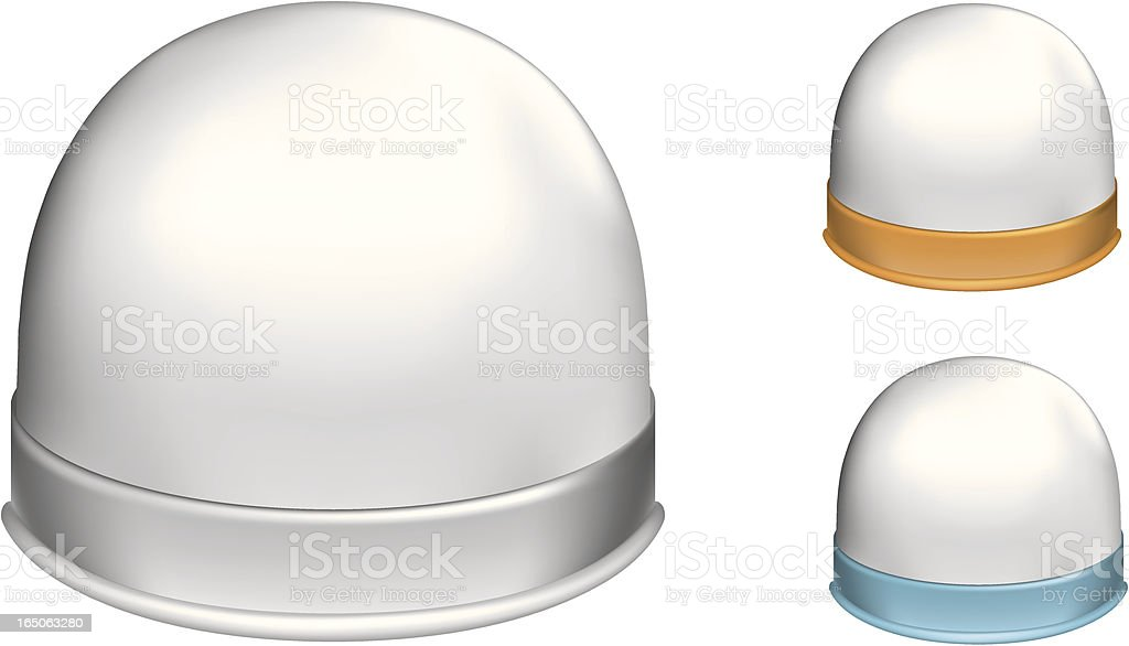 Snowdome royalty-free stock vector art