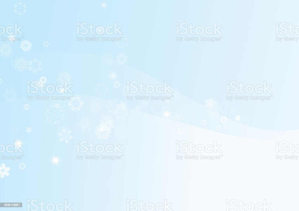 snowflake background royalty-free stock vector art