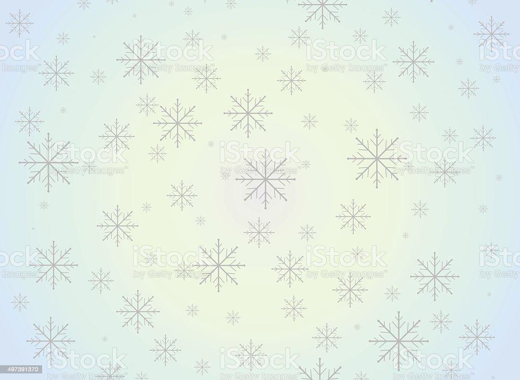 Snowflake christmas background royalty-free stock vector art