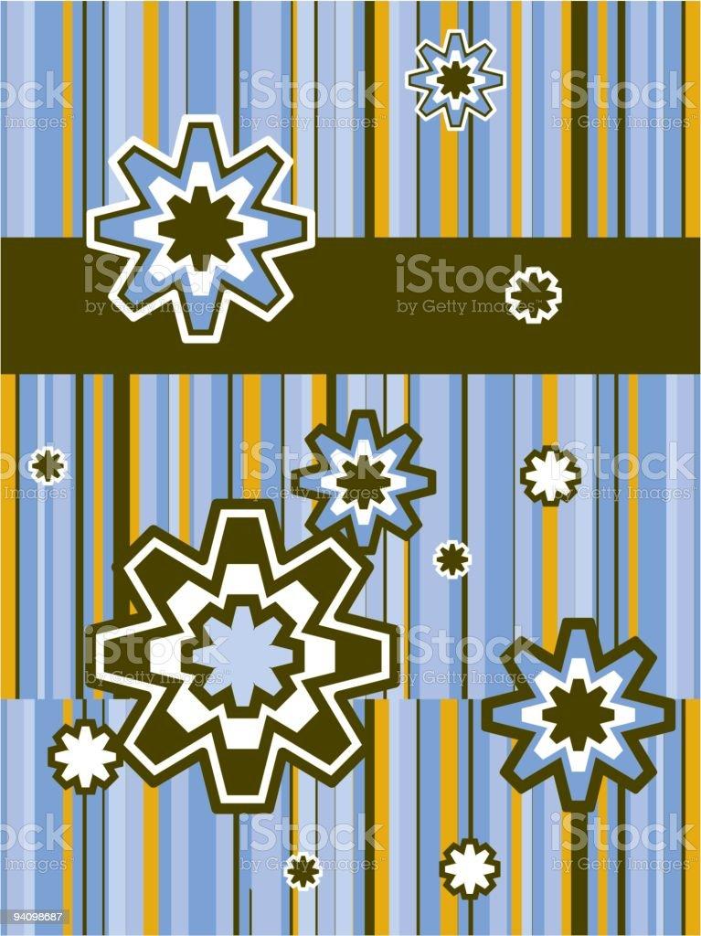 snowflake lines royalty-free stock vector art