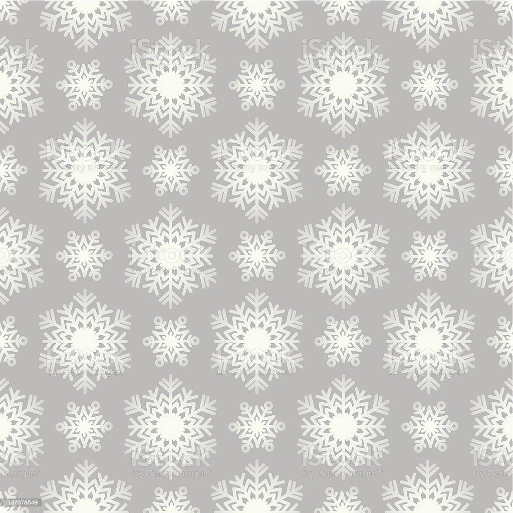 snowflake pattern. wallpaper gray vector art illustration