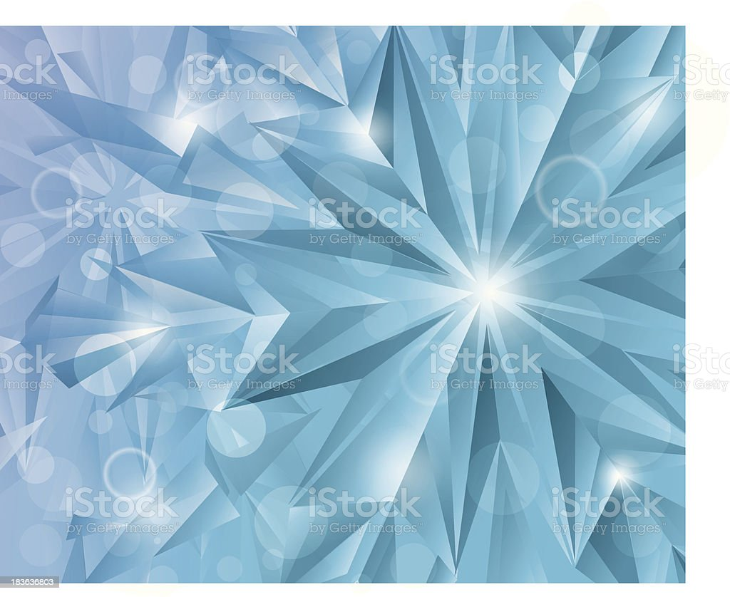 Snowflake. royalty-free stock vector art