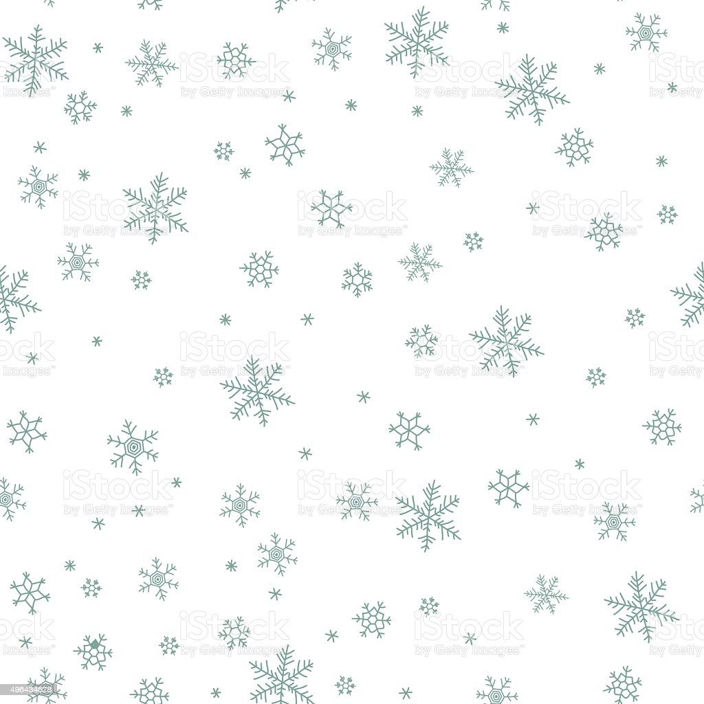 Snowflake vector pattern. vector art illustration