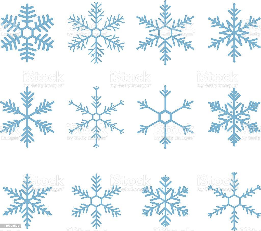 Snowflake Vector royalty-free stock vector art
