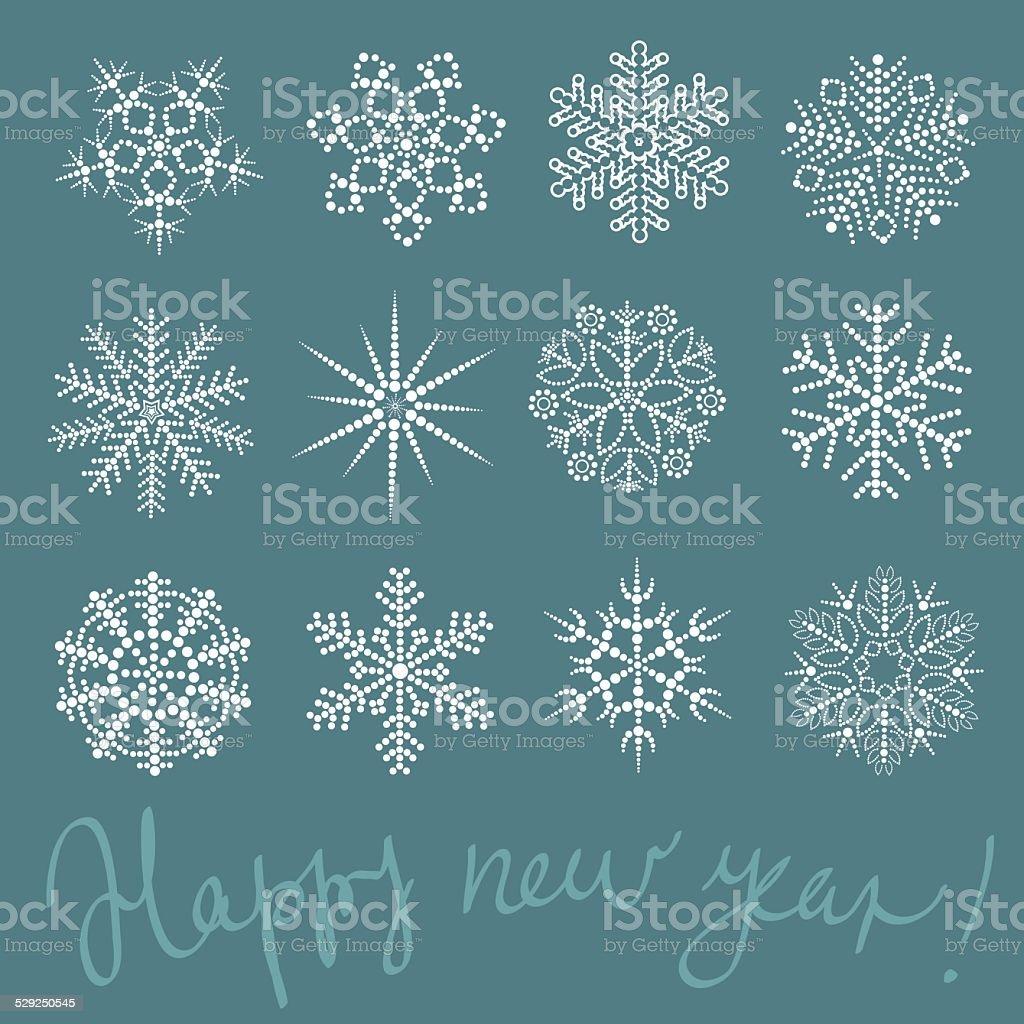 雪の結晶 ロイヤリティフリーのイラスト素材
