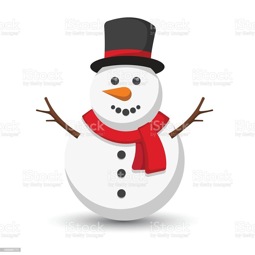 free vector clipart snowman - photo #17