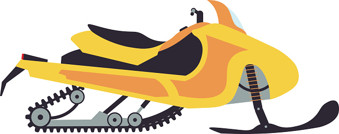 Snowmobile Clip Art, Vector Images & Illustrations - iStock