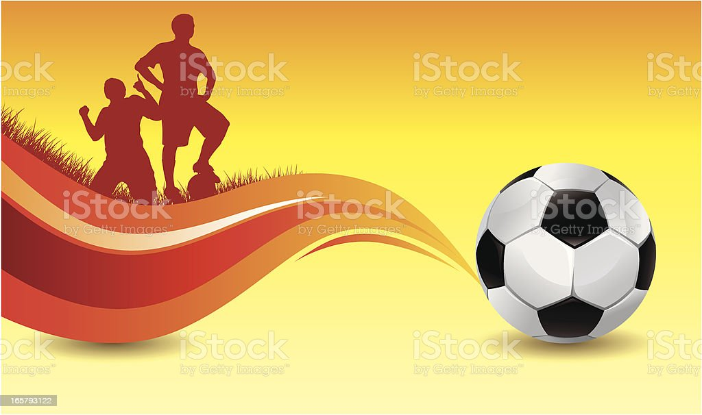 soccer background royalty-free stock vector art