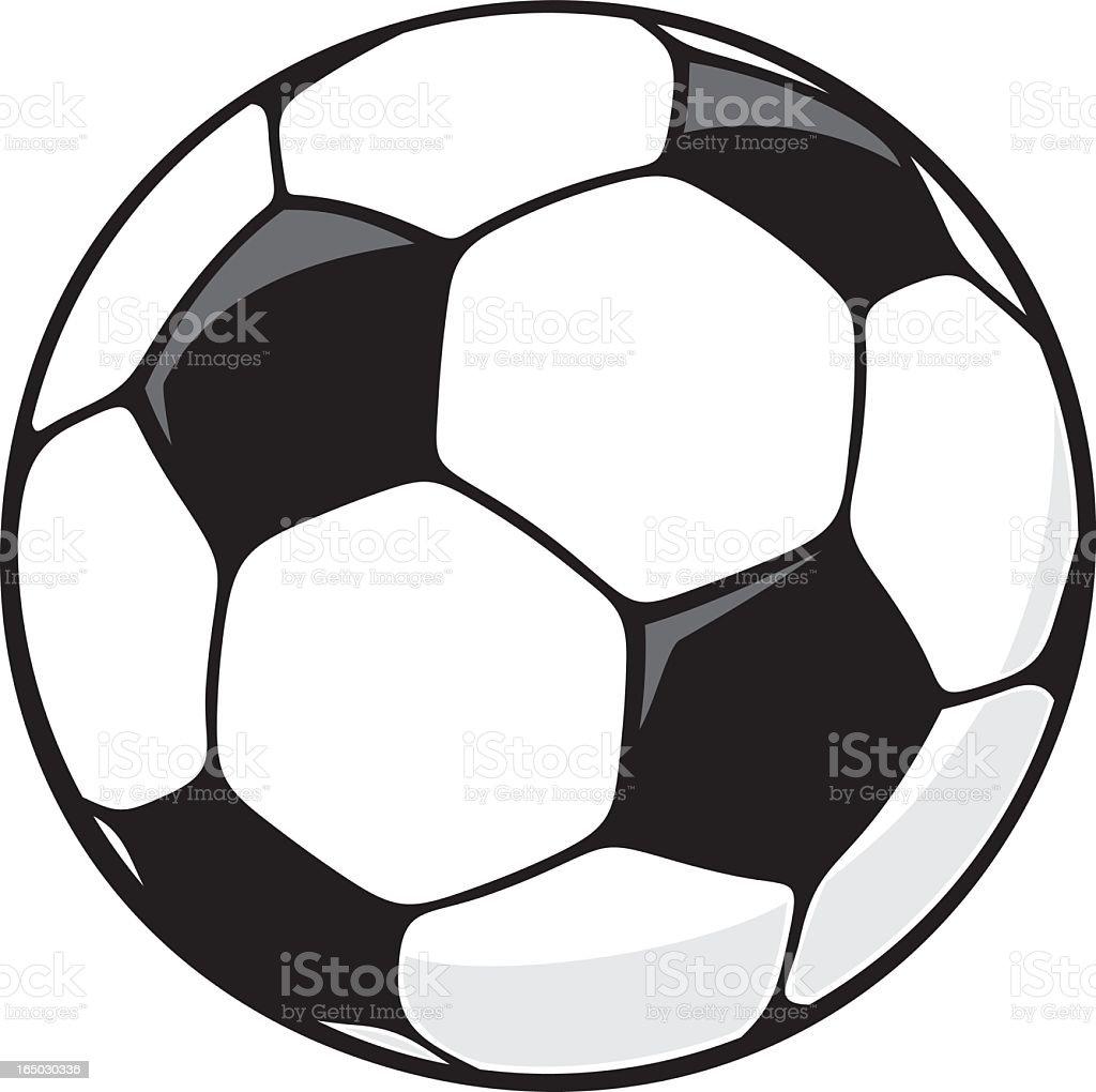 Soccer Ball vector art illustration