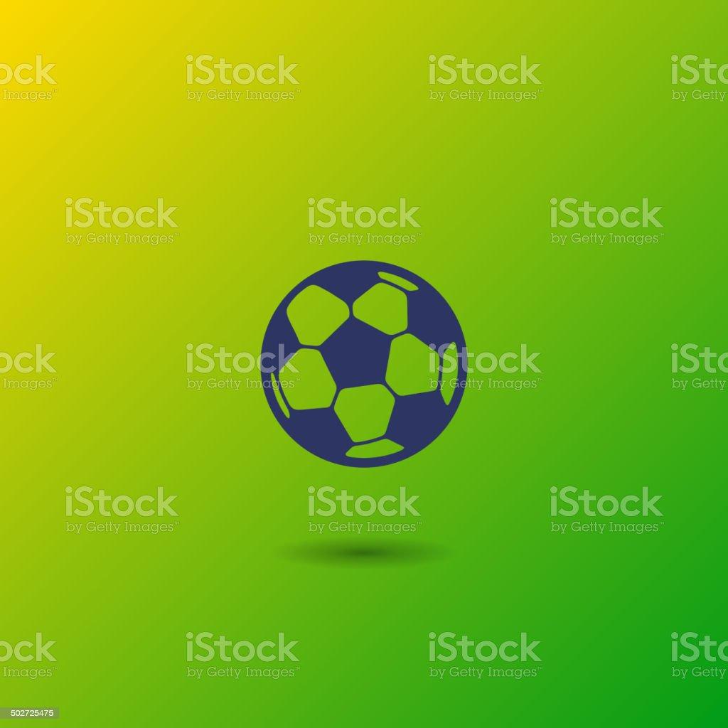 Soccer Ball. Vector royalty-free stock vector art