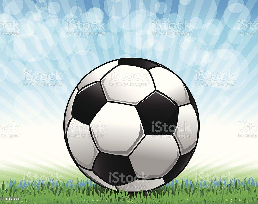 Soccer ball1 royalty-free stock vector art