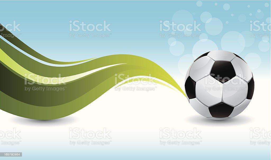 soccer blue background royalty-free stock vector art