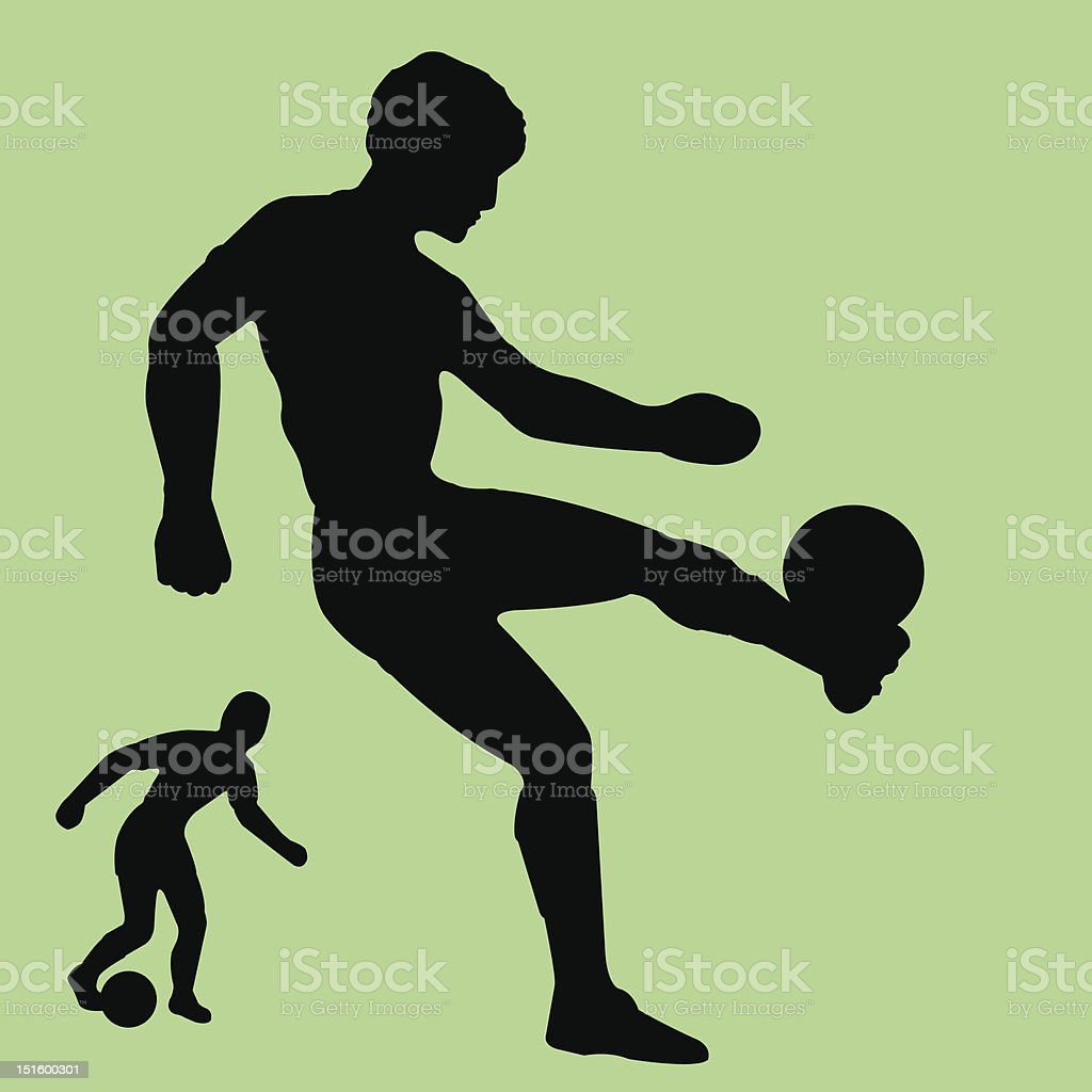 soccer bonanza royalty-free stock vector art
