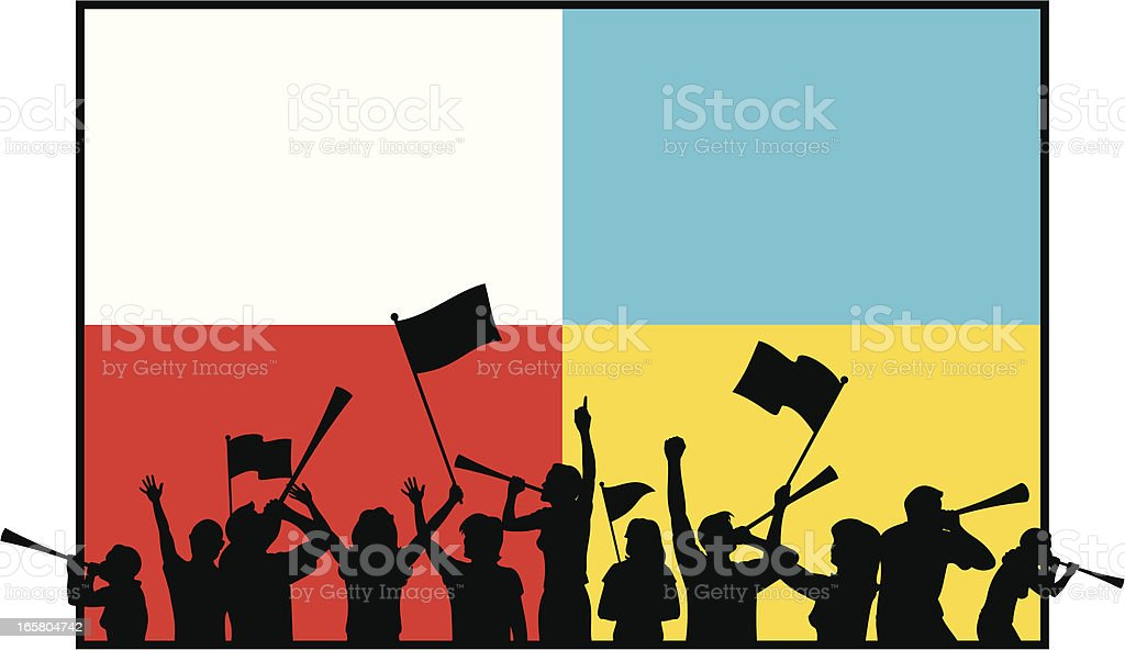 Soccer Celebration royalty-free stock vector art