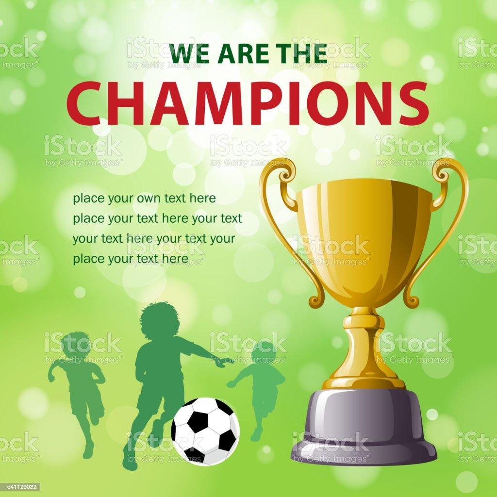 Soccer Championships vector art illustration