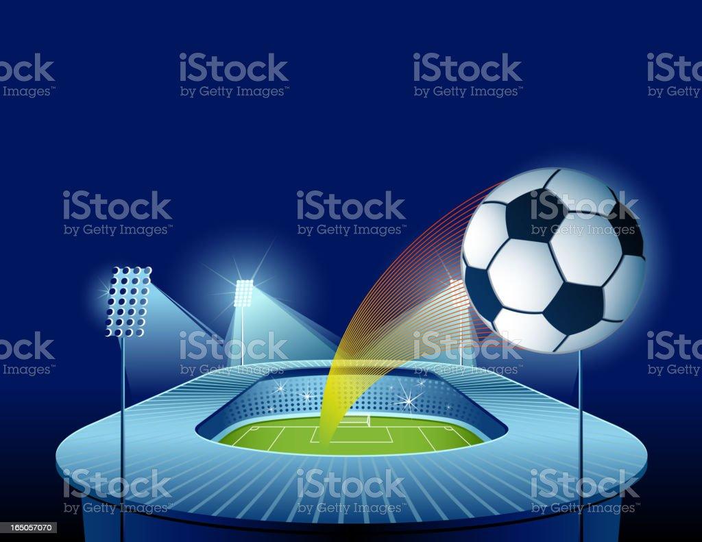 Soccer concept royalty-free stock vector art