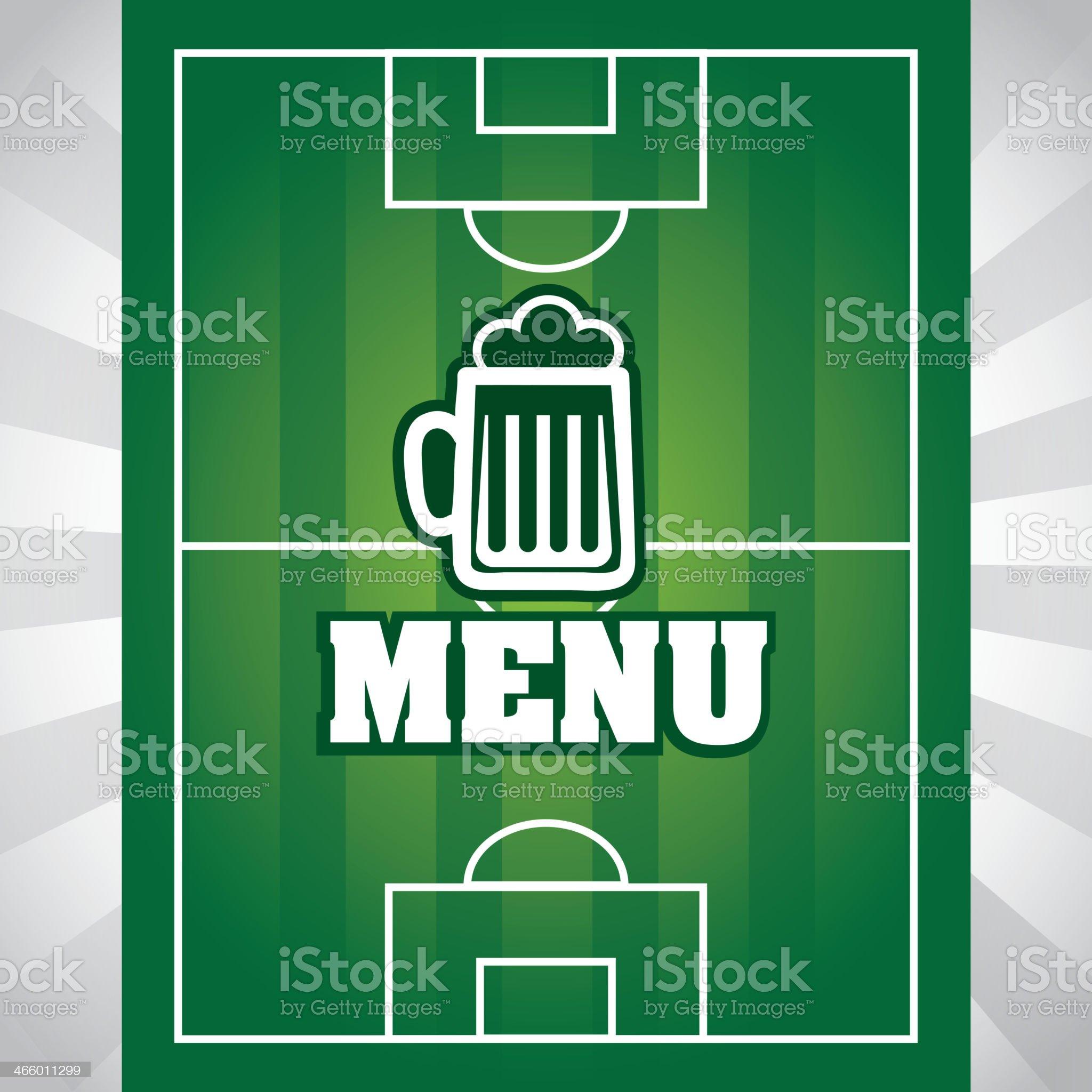 Soccer Design royalty-free stock vector art