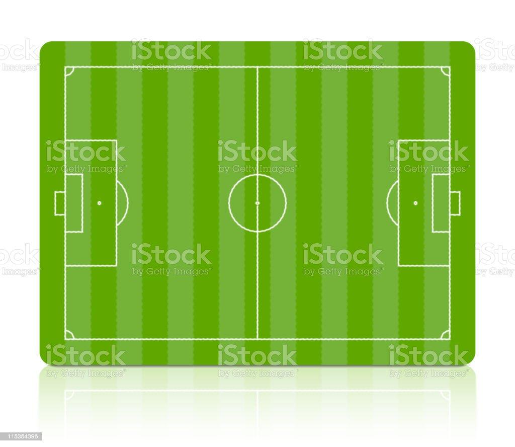 Soccer field. Vector. vector art illustration