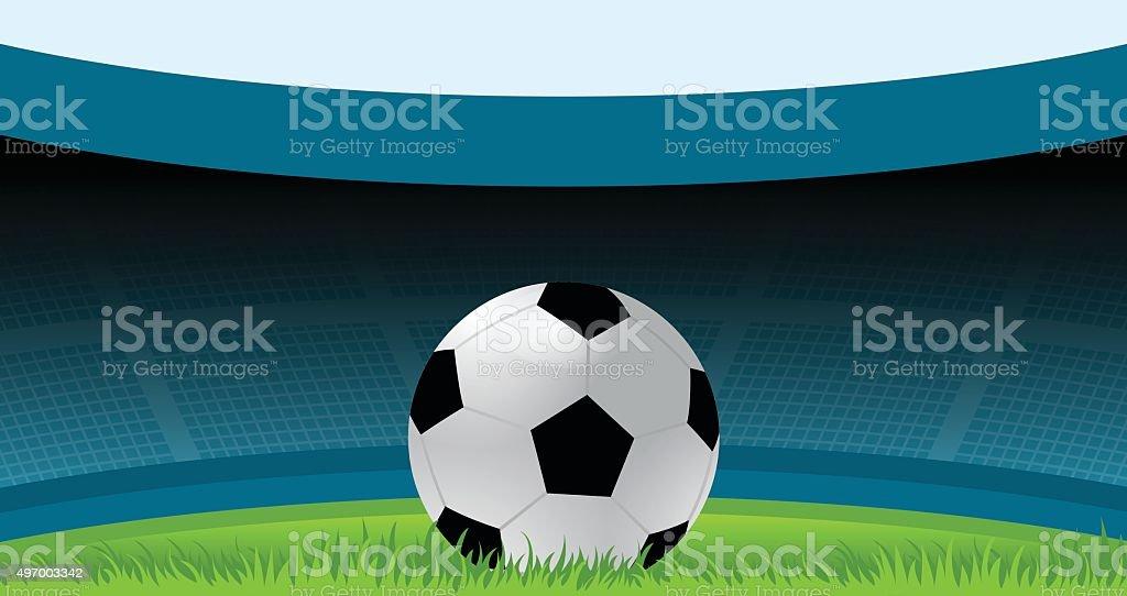 Soccer, Football, Soccer Ball, Sport, Stadium vector art illustration