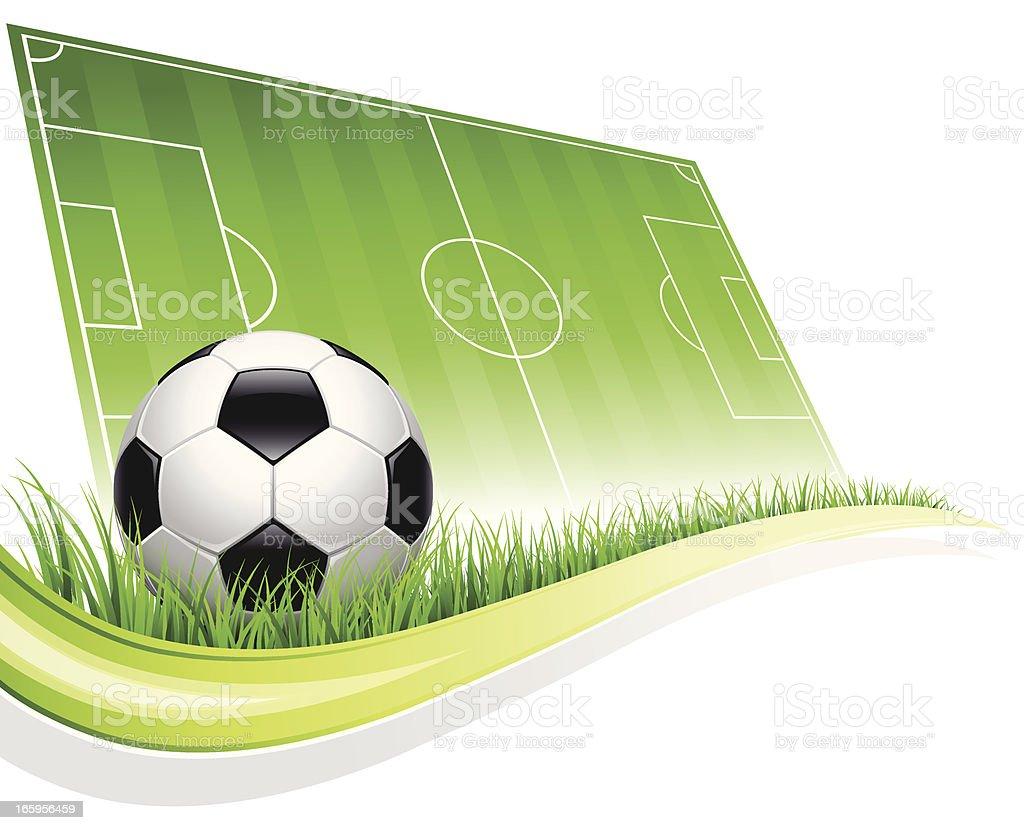 Soccer Football vector art illustration