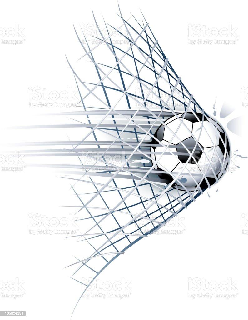 Line Drawing Net : Soccer goal stock vector art istock