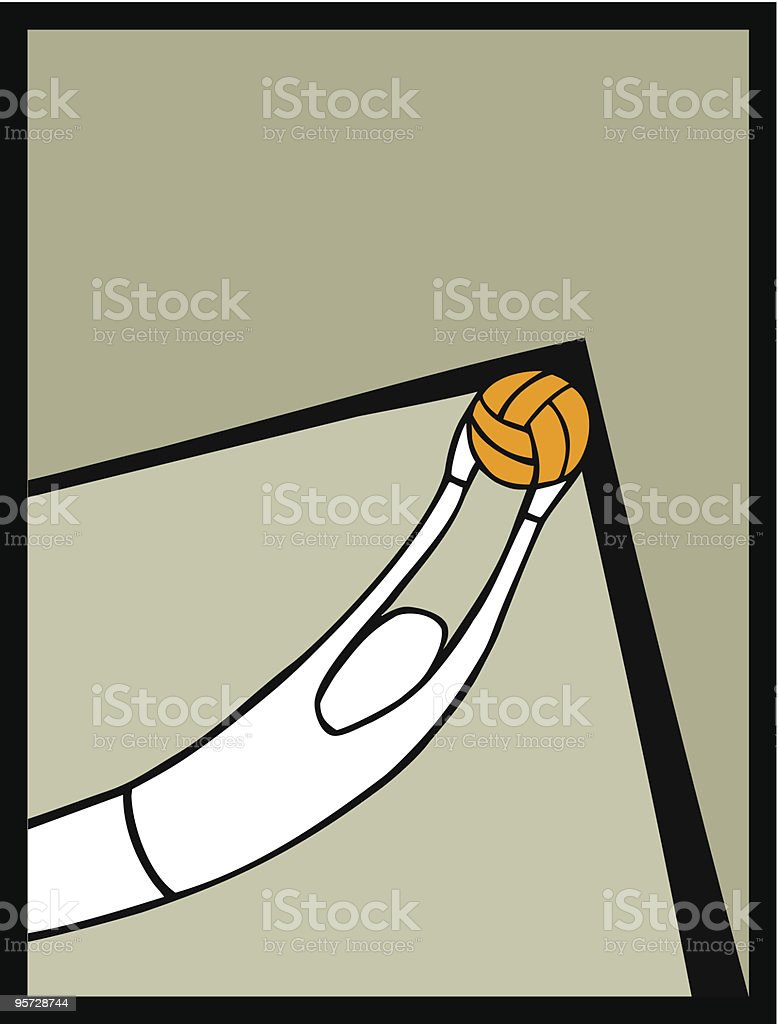 soccer goalkeeper catching a shot royalty-free stock vector art