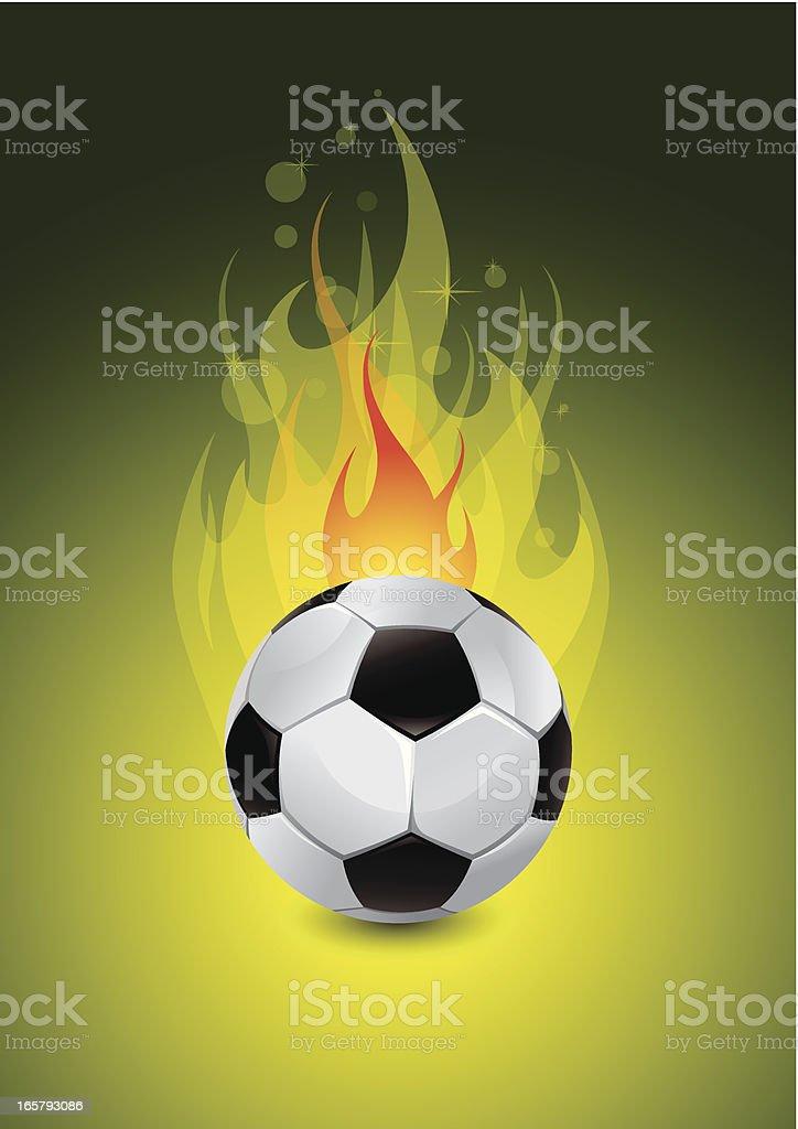 Soccer green background royalty-free stock vector art