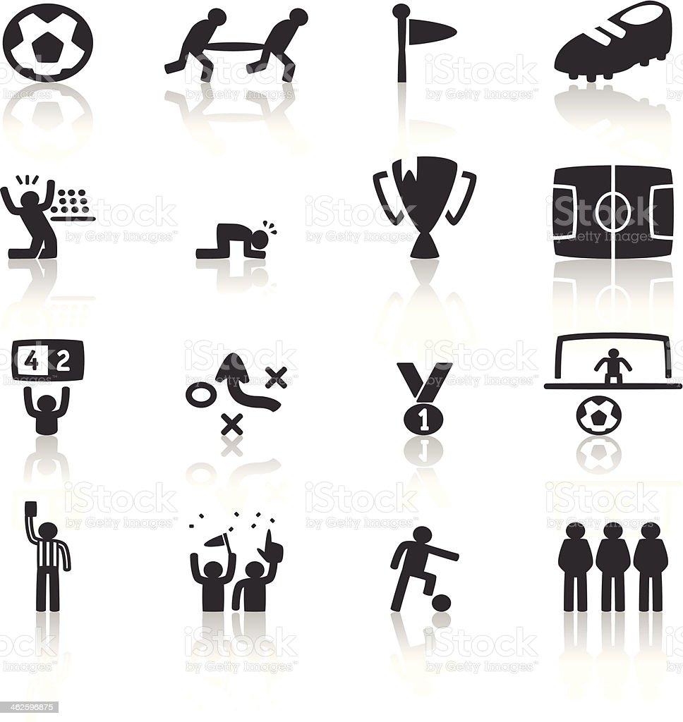 Soccer Icon vector art illustration