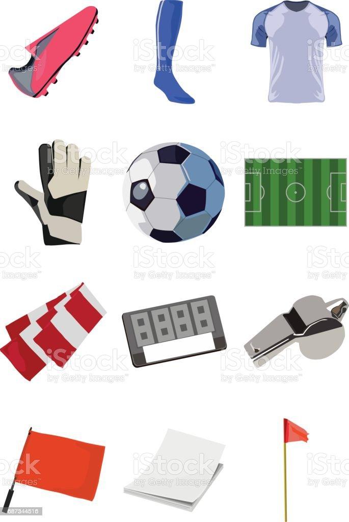 soccer illustration vector art illustration