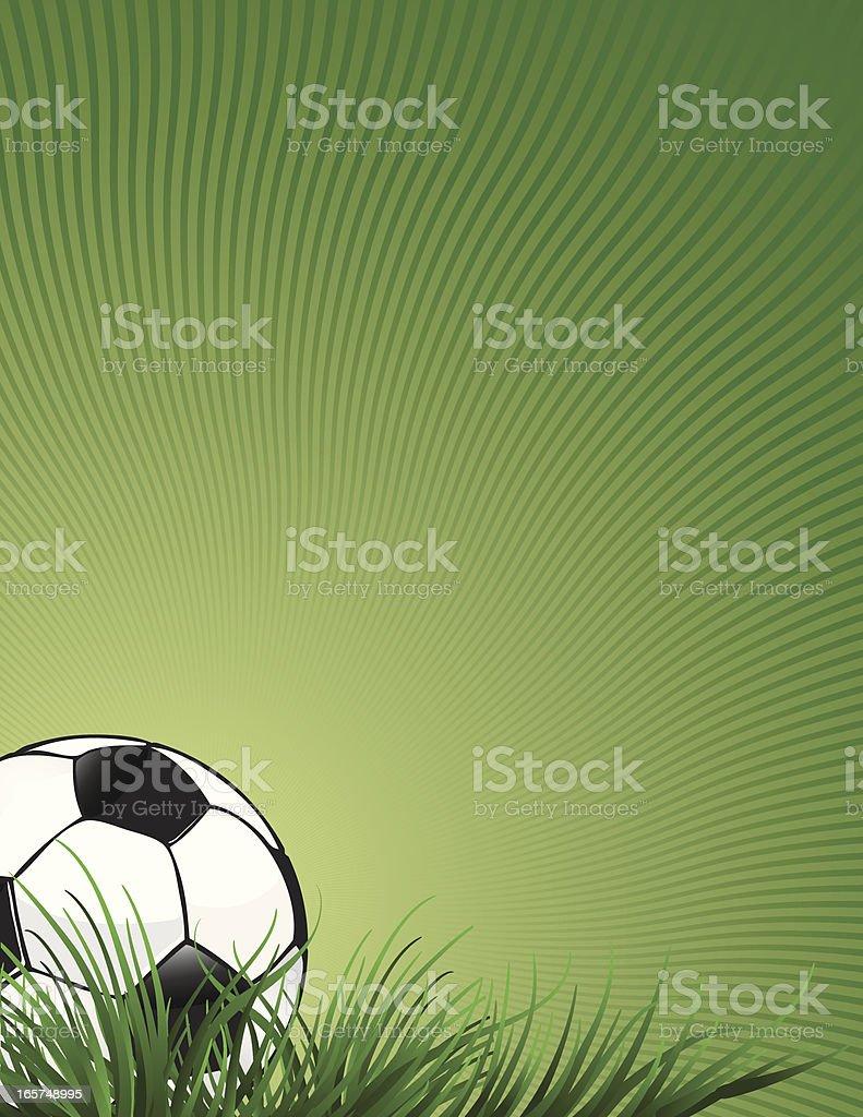 Soccer Page vector art illustration