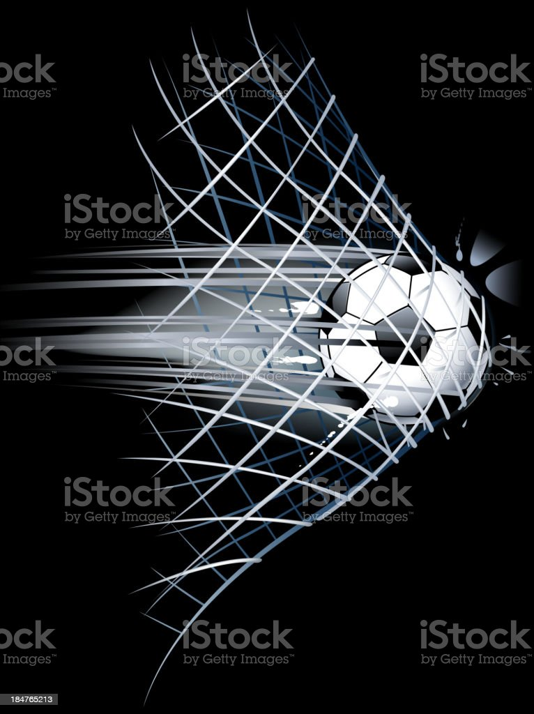 soccer scoring royalty-free stock vector art