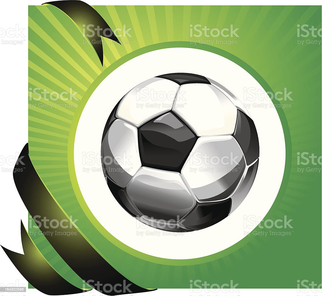Soccer vector design royalty-free stock vector art