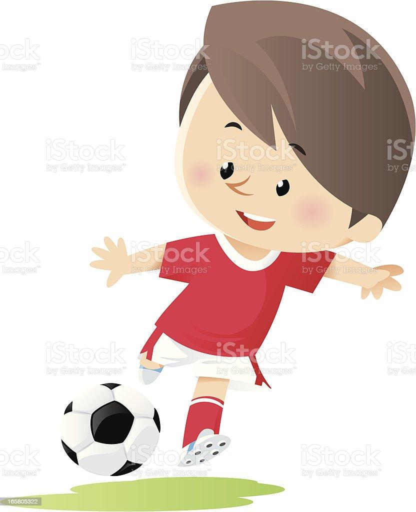 Soccer vector art illustration