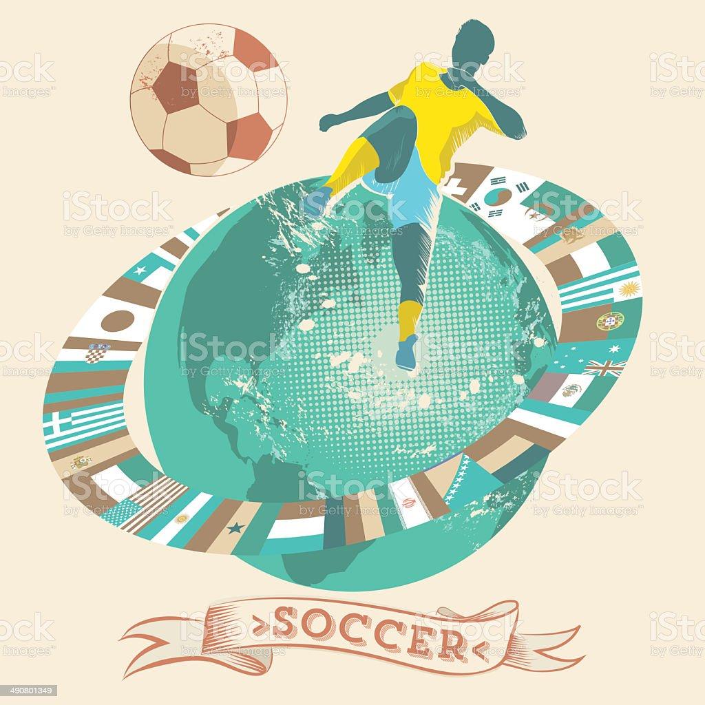 soccer world symbol royalty-free stock vector art