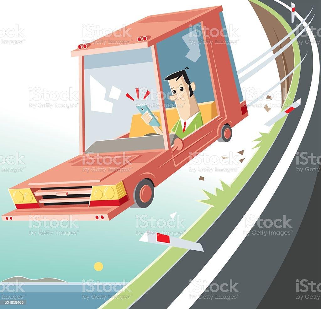 social media drive vector art illustration