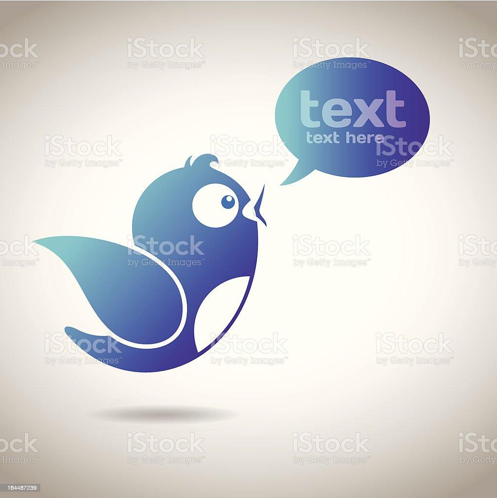 Social Media Message royalty-free stock vector art
