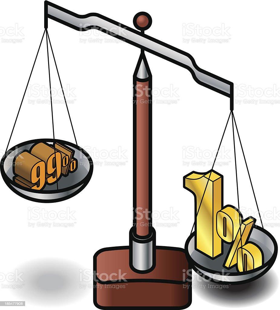 Social Value vector art illustration