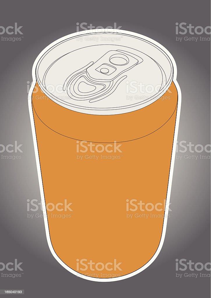 Soda Can royalty-free stock vector art