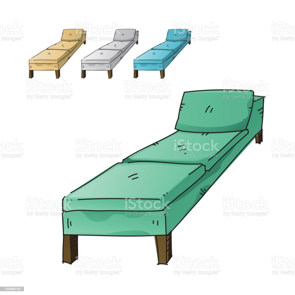 Sofa royalty-free stock vector art