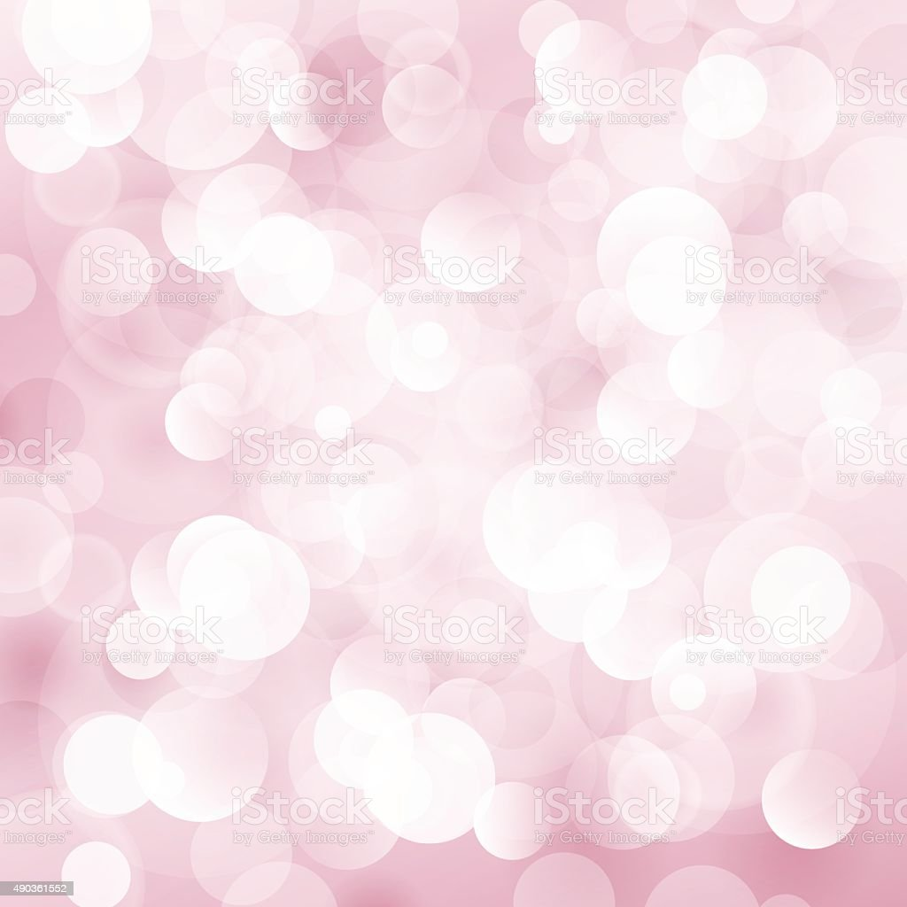 Soft  Bright Abstract Bokeh Background vector art illustration