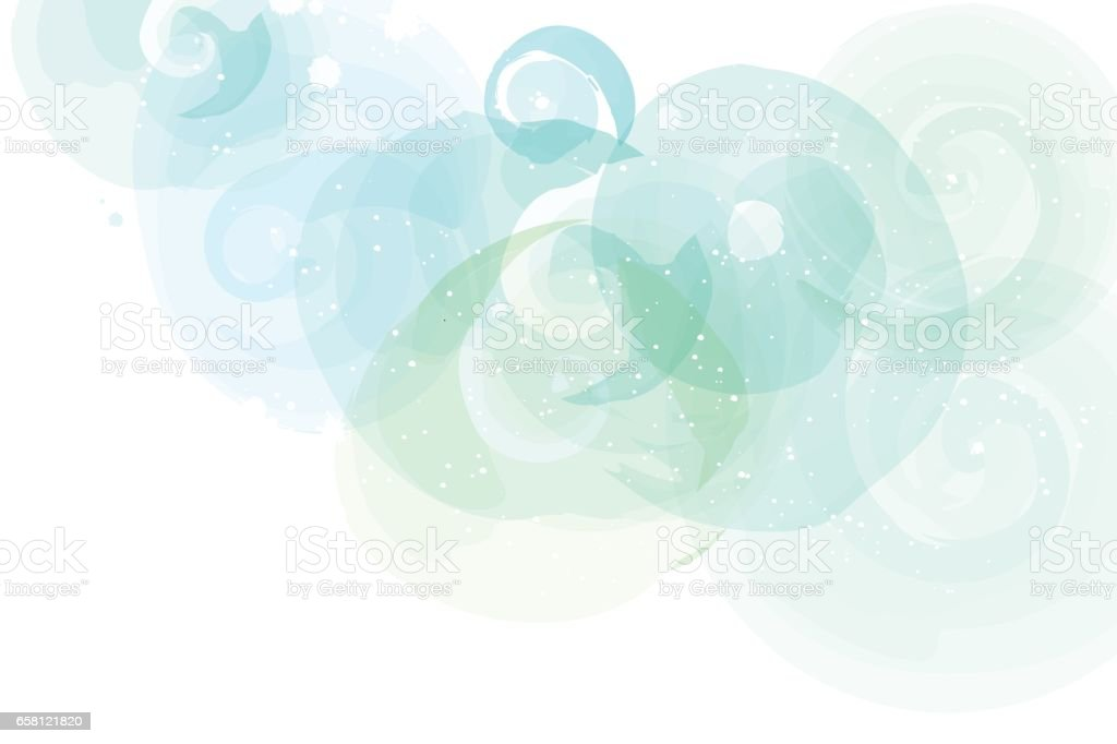 Soft colored abstract background for design. vector art illustration