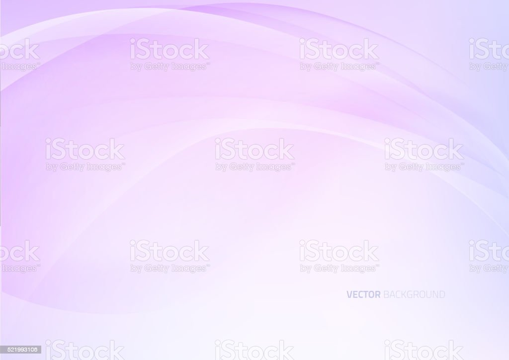Soft colored abstract background vector art illustration