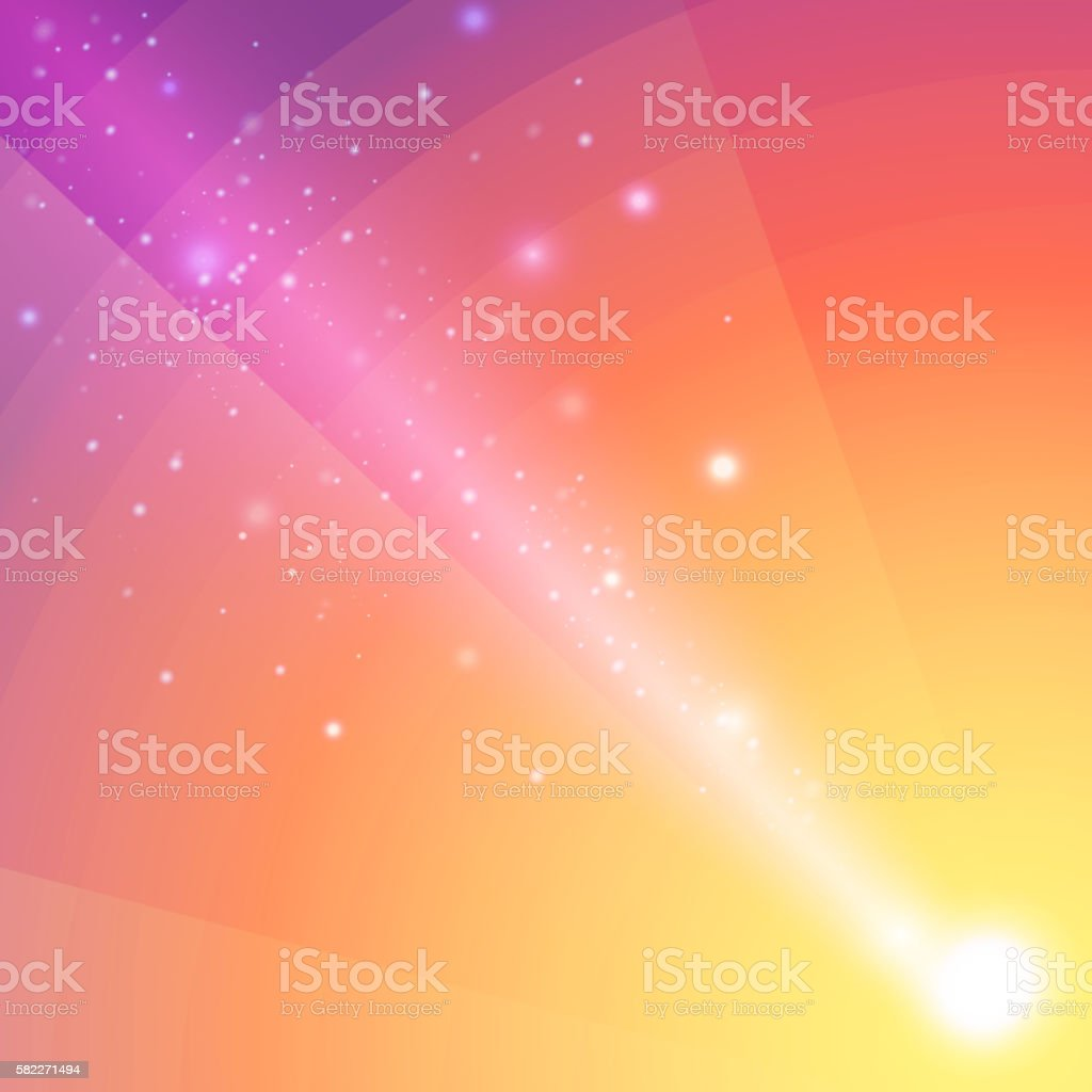 Soft colored abstract background with beam light. vector art illustration