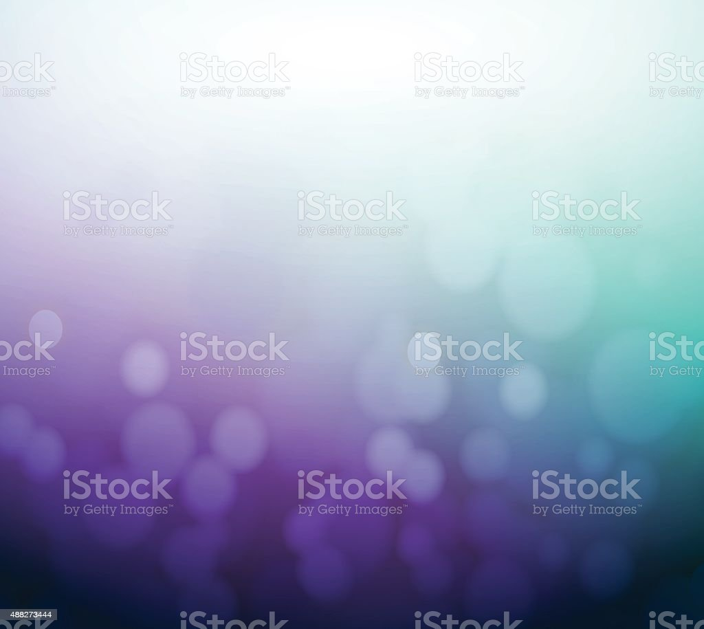 Soft colored purple and aqua abstract background vector art illustration
