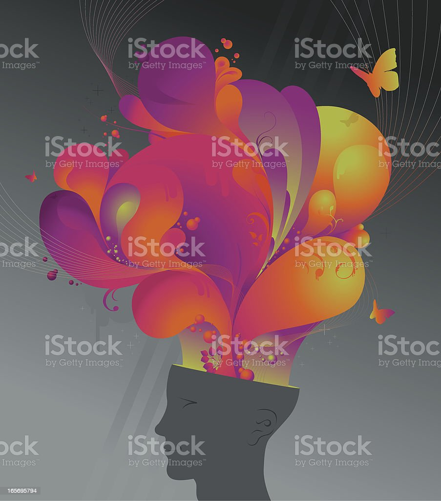soft flow royalty-free stock vector art