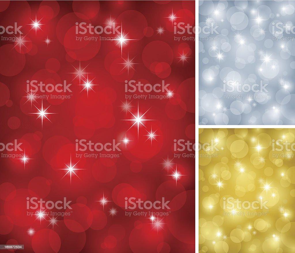 Soft Light Sparkle Backgrounds royalty-free stock vector art