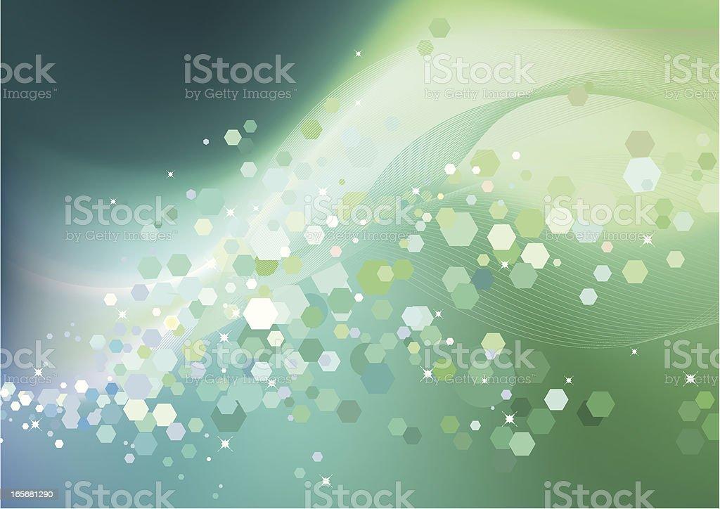 soft lights vector art illustration